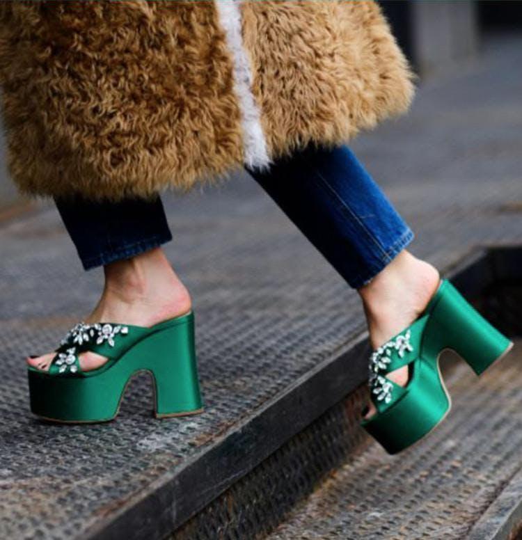 platforms maximalist shoe trends