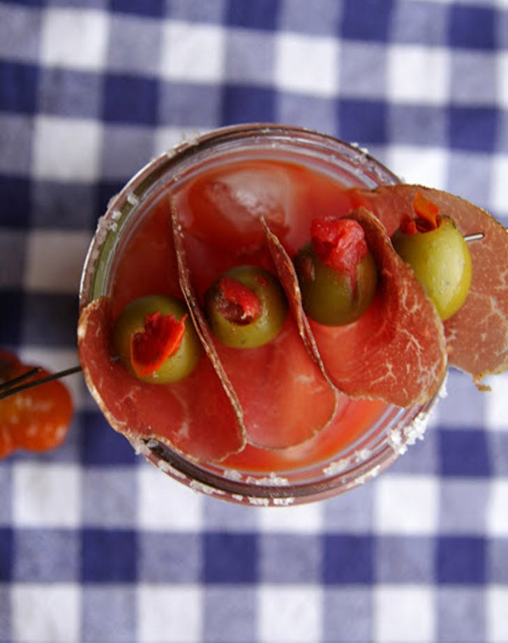 prosciutto bloody mary LIST