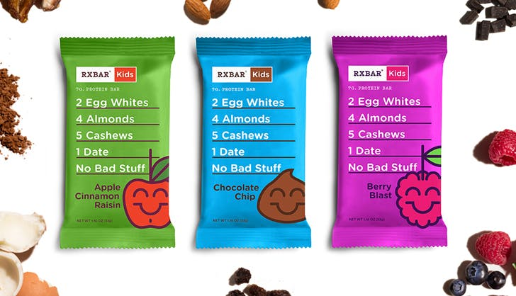 rxbar kids integration