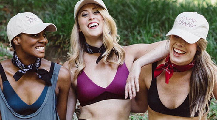 Rejoice! Spanx Just Made a Bralette and Its All We Want to Wear