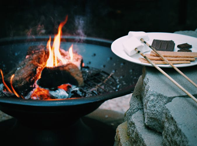 staycation smores