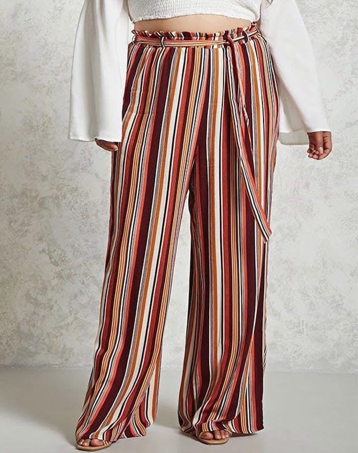 stripe palazzo pants forever 21