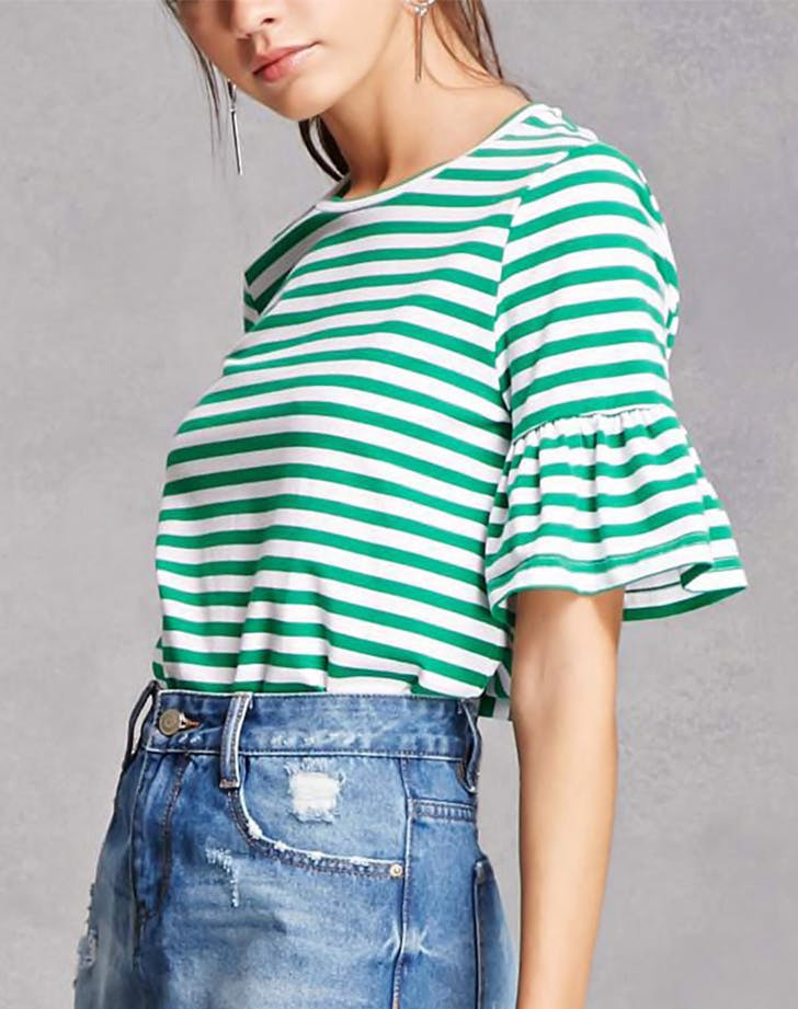 striped tee forever 21