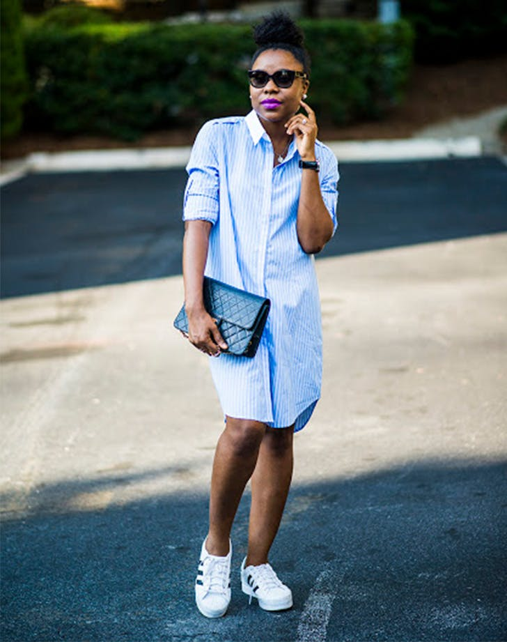 style shortcute shirt dress