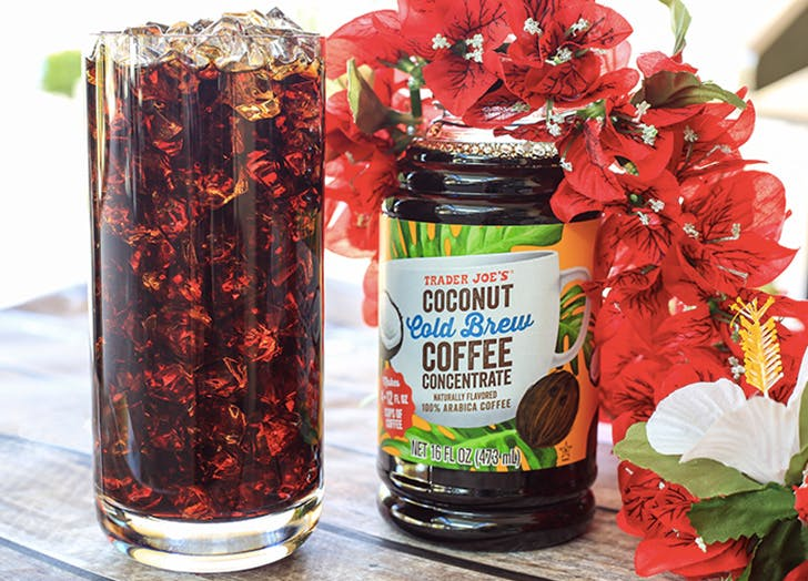 trader joes coconut cold brew