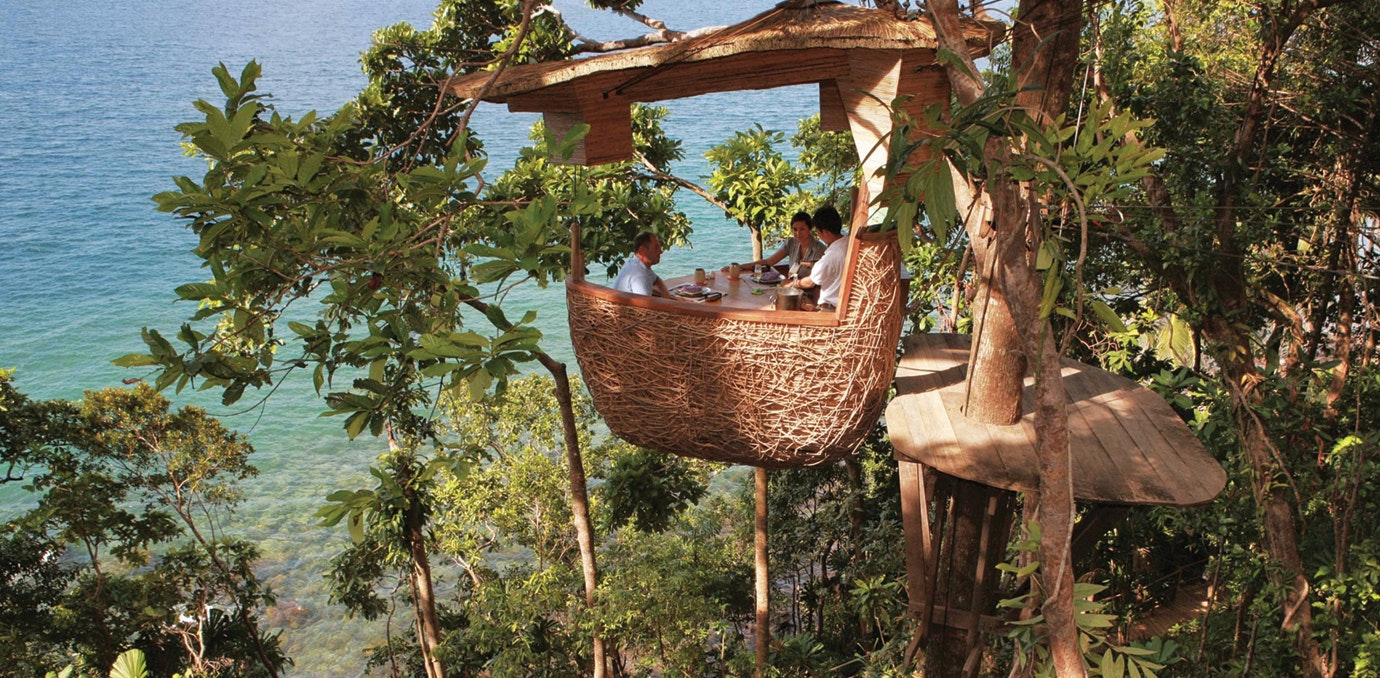 Unique Restaurants Part - 42: In A Tree: Koh Kood, Thailand