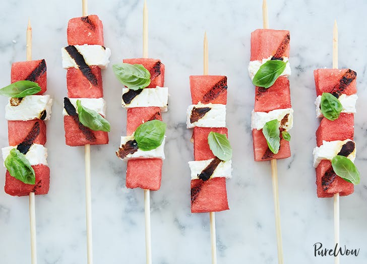 watermelon skewers basil 728