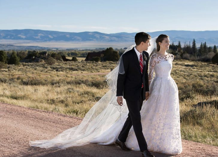 Allison Williams wedding