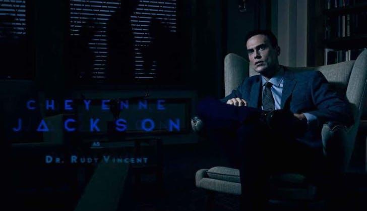 American Horror Story Cult Cheyenne Jackson Dr. Rudy Vincent