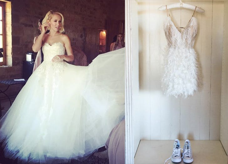 Anna Camp wedding