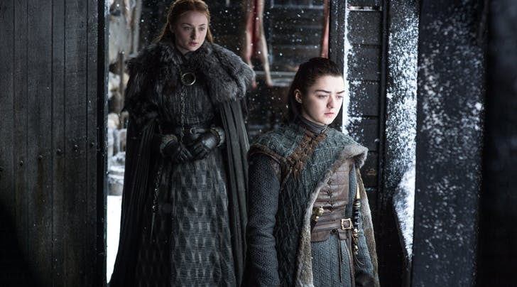This Crazy Ménage à Trois of a 'GoT' Theory with Littlefinger & the Stark Sisters Is So Sinnister