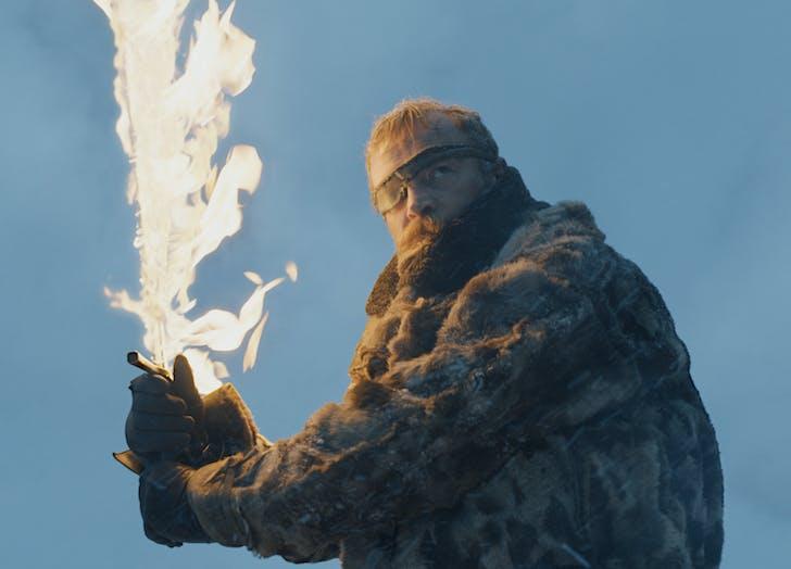 Beric Dondarrion Game of Thrones Season Seven Episode 6