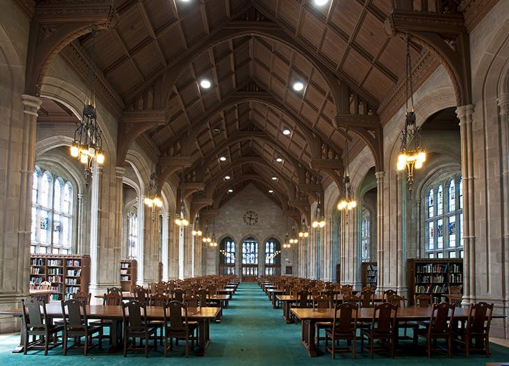 Boston College library
