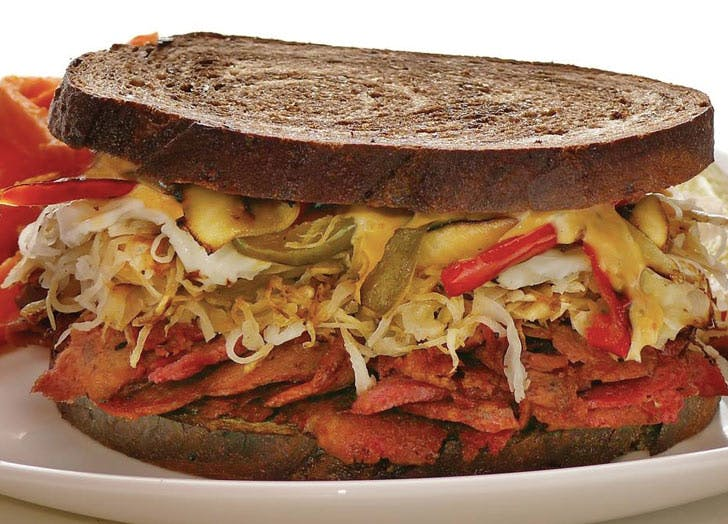 CHI best sandwiches vegan reuben list