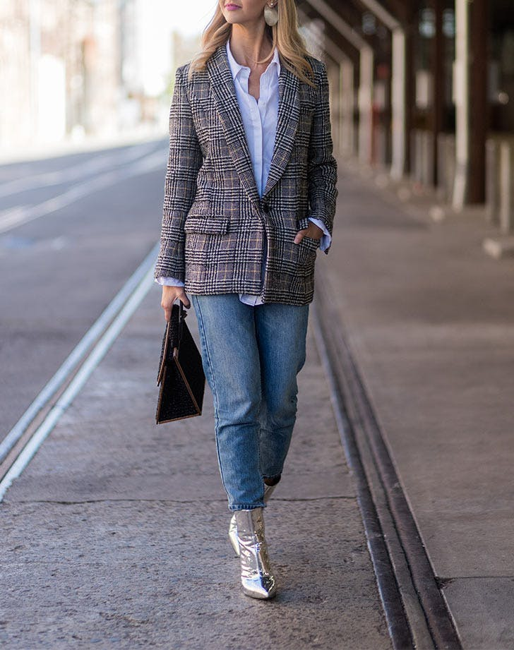 CHI plaid blazer LIST