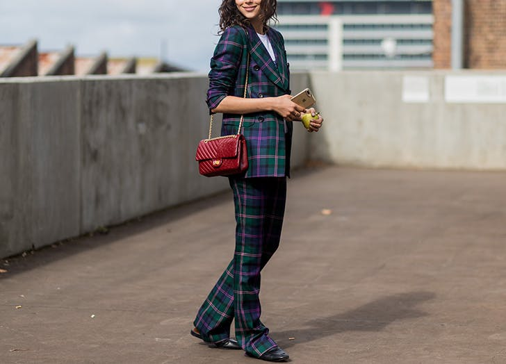 CHI plaid pantsuit LIST