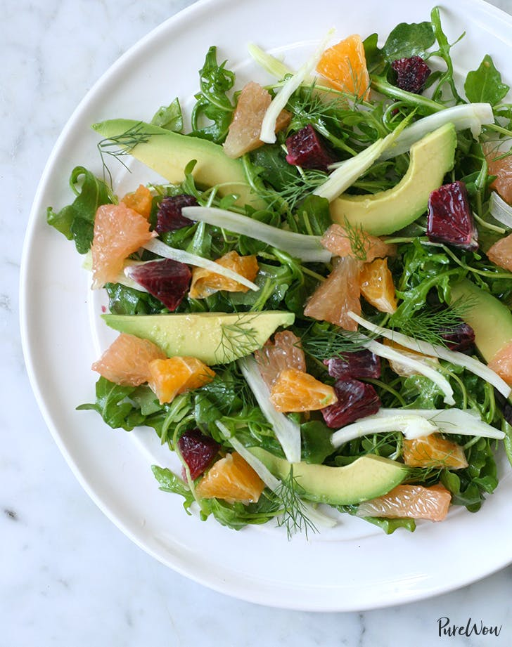 CITRUS  FENNEL AND AVOCADO SALAD lunch salads
