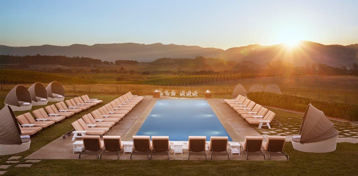 Carneros Resort   Spa  Napa  California  elopement packages