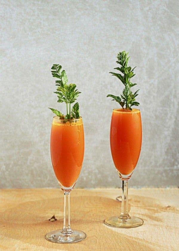 Carrot Mimosa Recipe