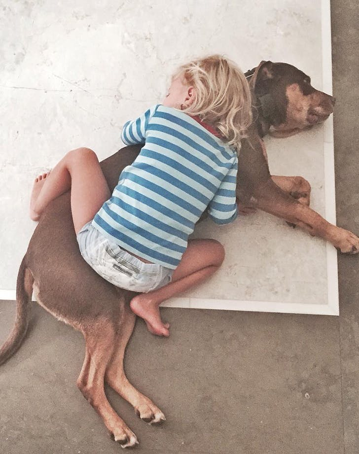 Celebrity Kids and Pets Tom Brady Gisele1