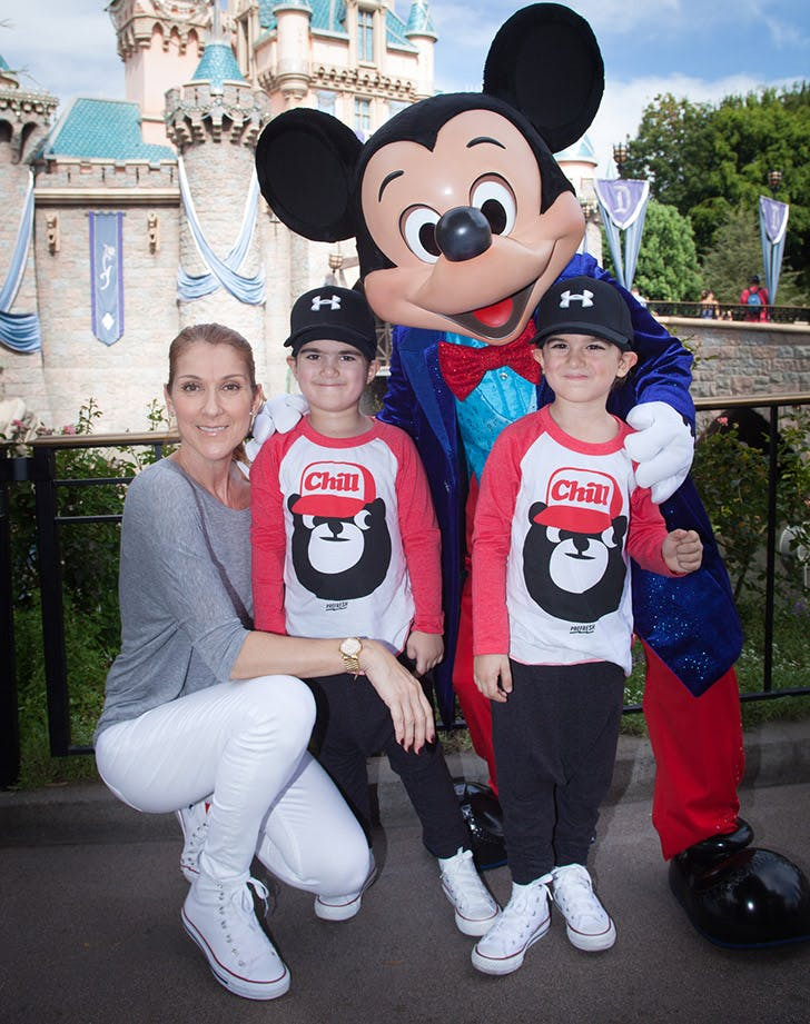 Celine Dion Dreams Come true at Disney