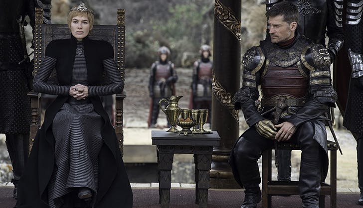 Cersei Lannister and Jaime Lannister Season 7 Game of Thrones2