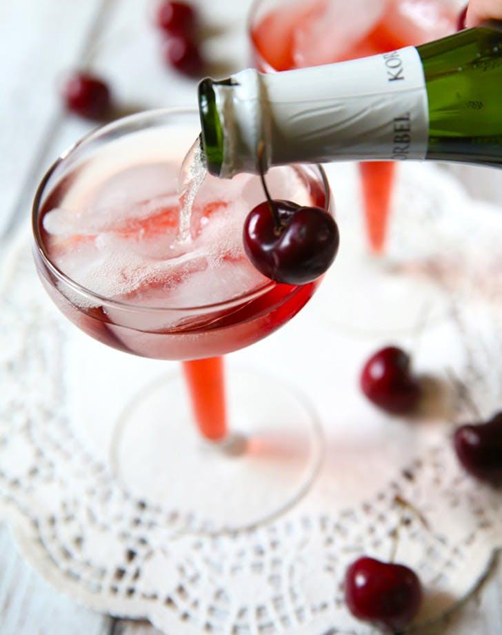 Cherry Mimosa Recipe