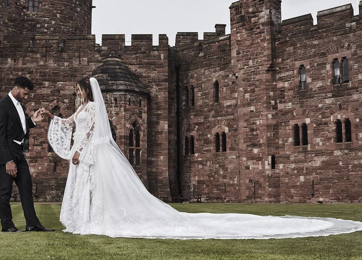 Ciara wedding castle Russell Wilson