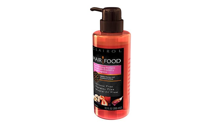 Clairol Hair Food Strawberry Ginger Root Clarifying Shampoo