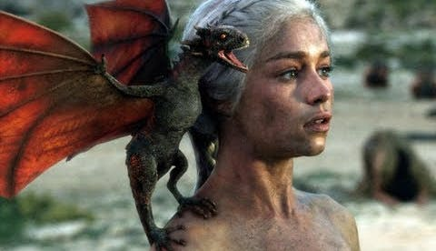 Daenerys Targaryen Drogon Game of Thrones season one