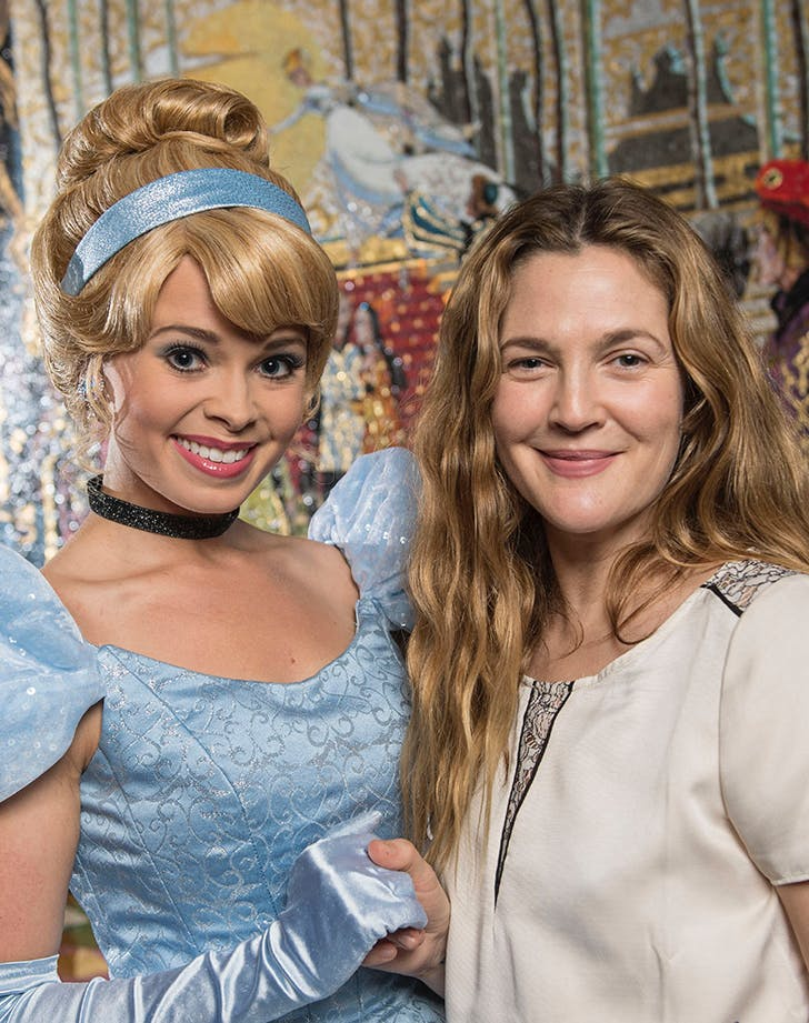 Drew Barrymore Dreams Come true at Disney