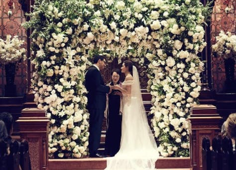 Emmy Rossum Wedding