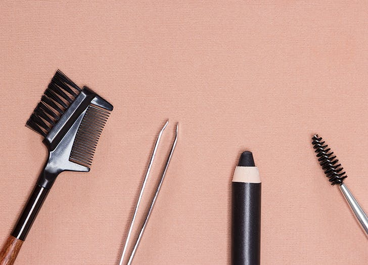 Eyebrow makeup tools