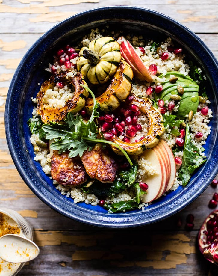 FALL HARVEST QUINOA SALAD lunch salads