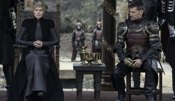Game of thrones season 7 finale episode 7 cersei lannister and jaime lannister