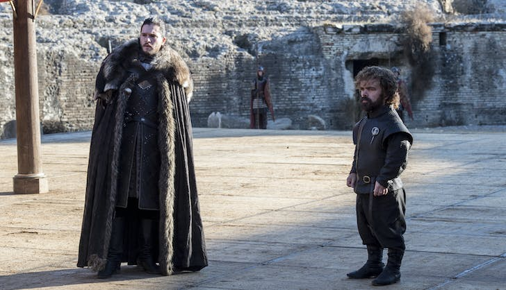 Game of thrones season 7 finale episode 7 jon snow and tyrion lannister