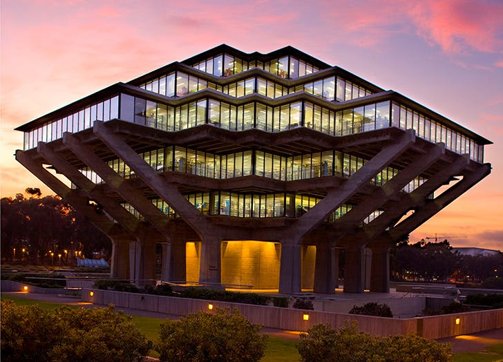 Geisel Library at University California San Diego