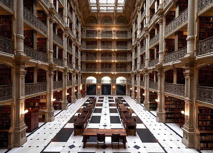 George Peabody Library of John Hopkins