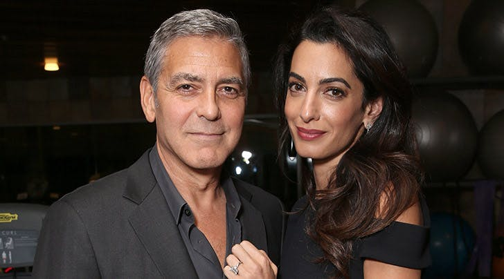 George & Amal Clooney Once Again Crush Date Night in Italy