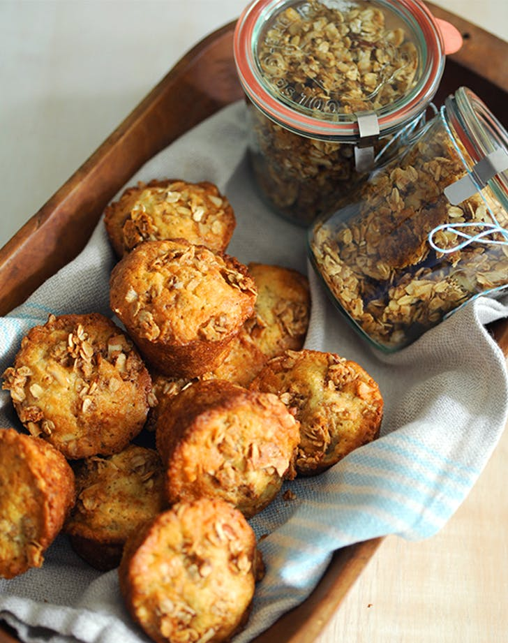Granola and Banana Crunch Muffins ina garten breakfast recipes
