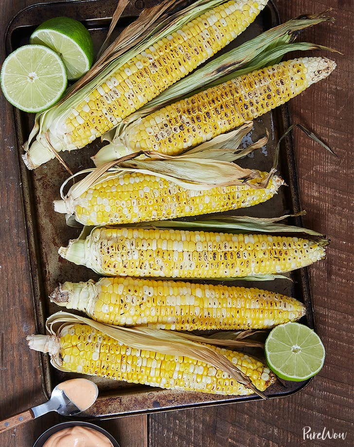 Grilled Corn with Spicy Aioli fresh corn recipes