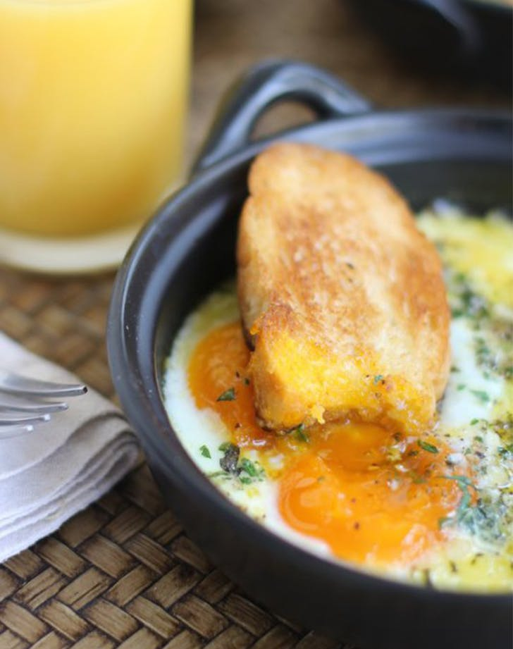 Herbed Baked Eggs Ina Garten Breakfast Recipes