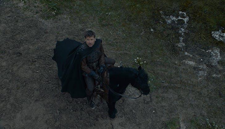 Jaime Lannister on horse