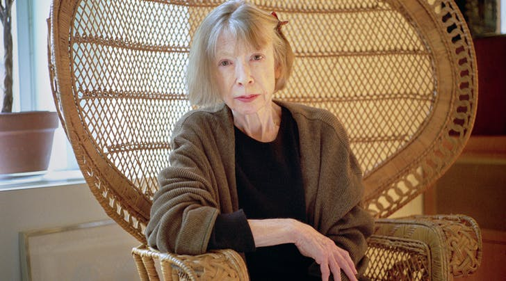 Bibliophiles, Rejoice: A Joan Didion Documentary Is Coming to Netflix