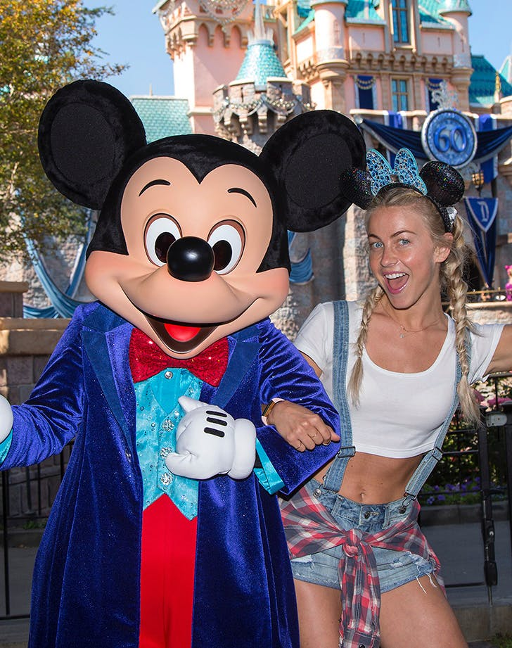 Julianne Hough Dreams Come true at Disney