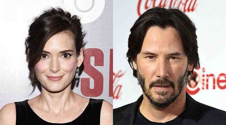 Dream Couple Keanu Reeves & Winona Ryder Reunite for 'Destination Wedding'