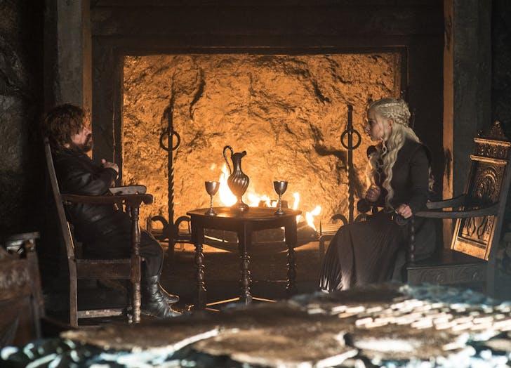 Khaleesi Tyrion Lannister Game of Thrones Season Seven Episode 6