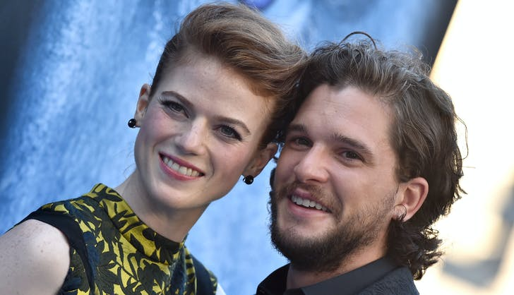 Kit Harington Rose Leslie dating game of thrones