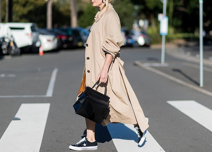 LA fall fashion trench coat LIST