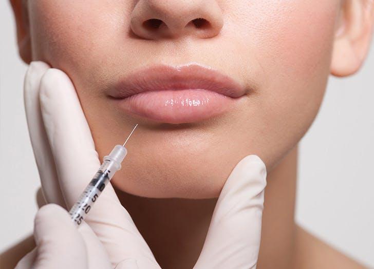 LA immediate spa effect lip filler LIST